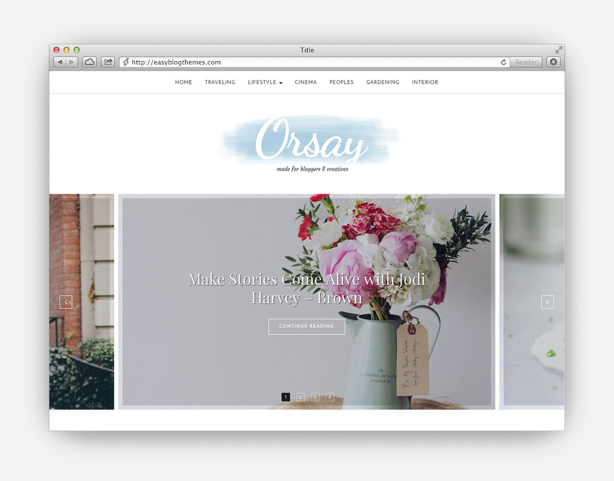 Akay Shop Blog WordPress Theme