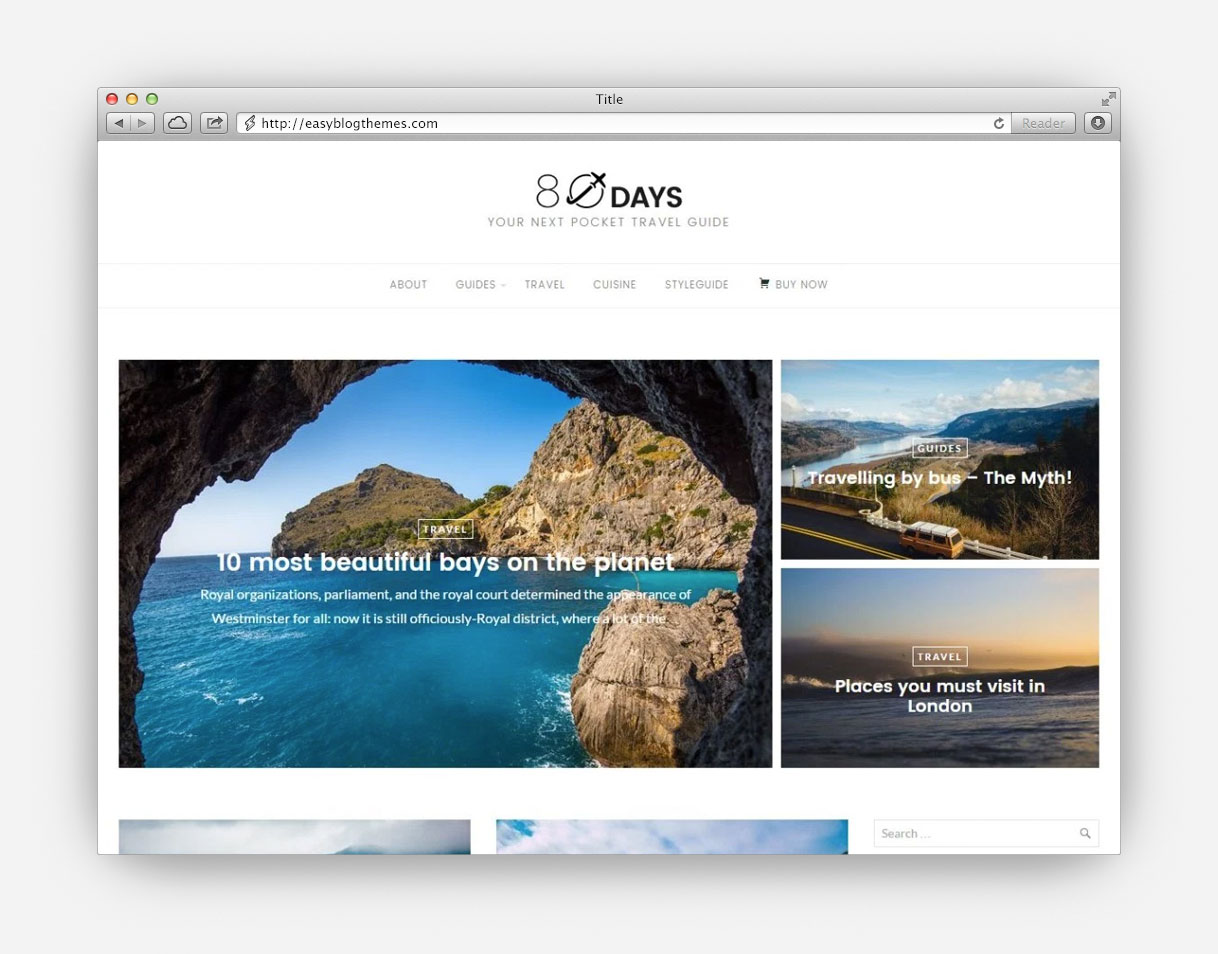 Anyway Creative Blog WordPress Theme