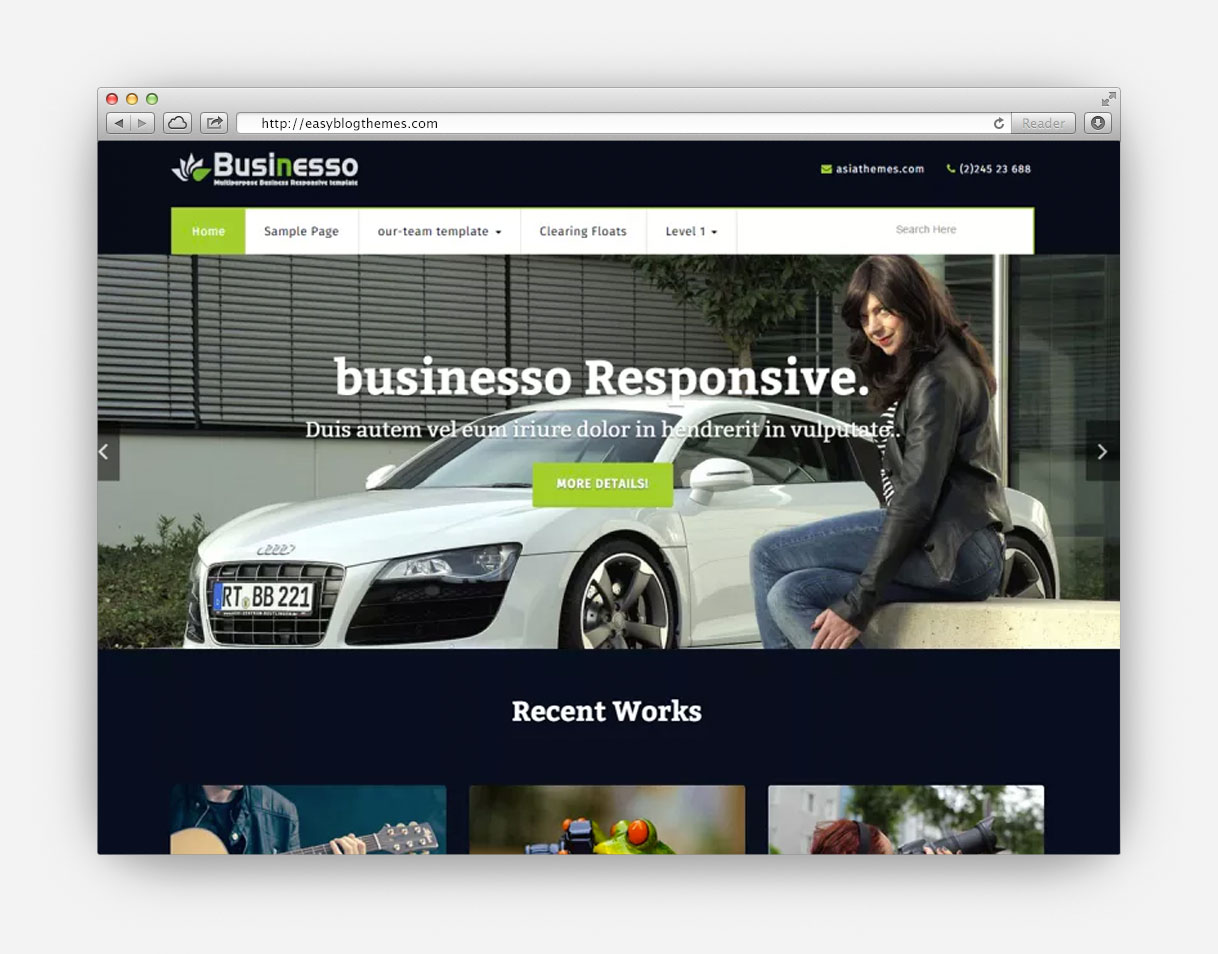 28 32 Free Wordpress Themes For 32 Free Premium