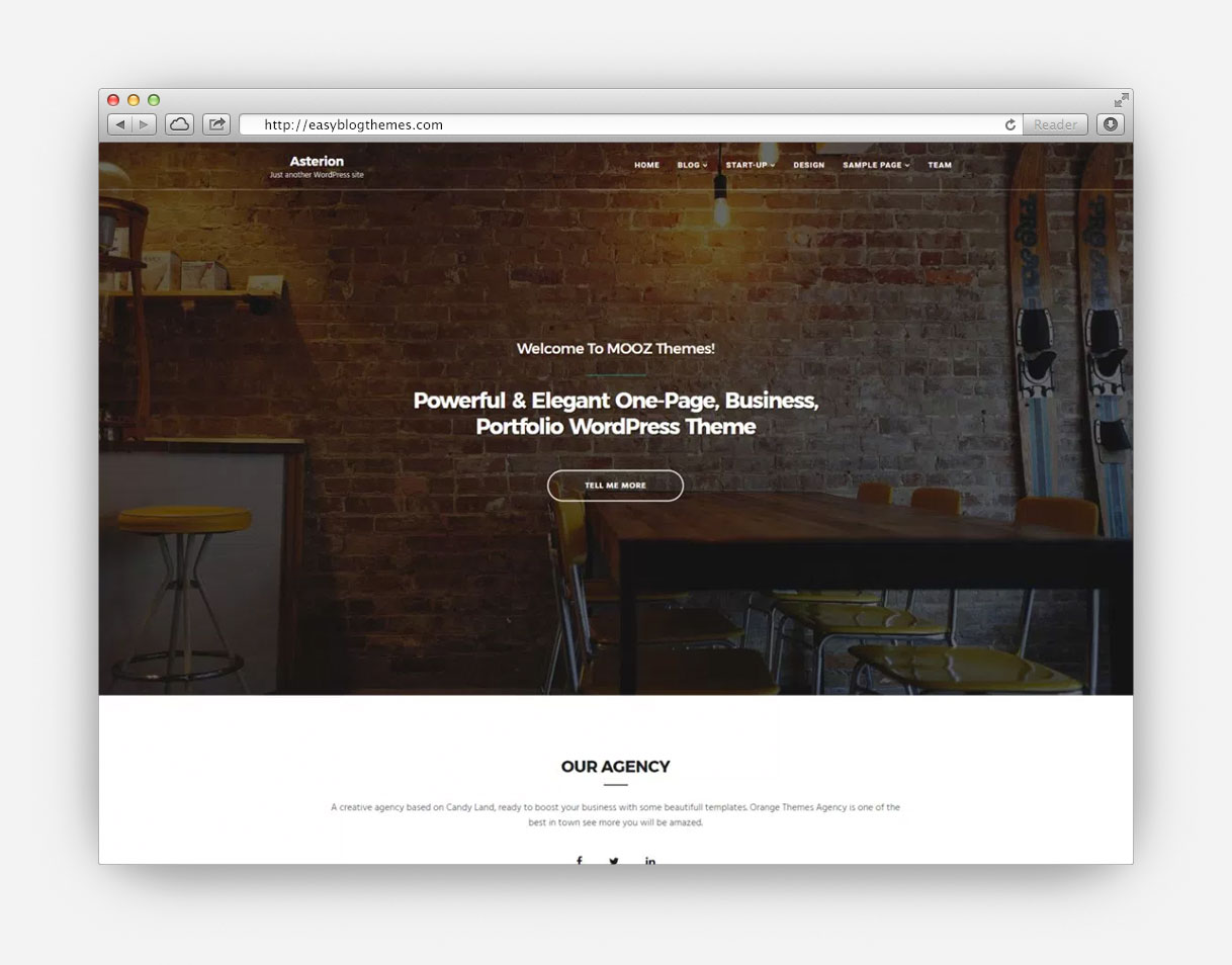 32 best free wordpress themes for agency of 2017 best free wordpress themes flashek Gallery