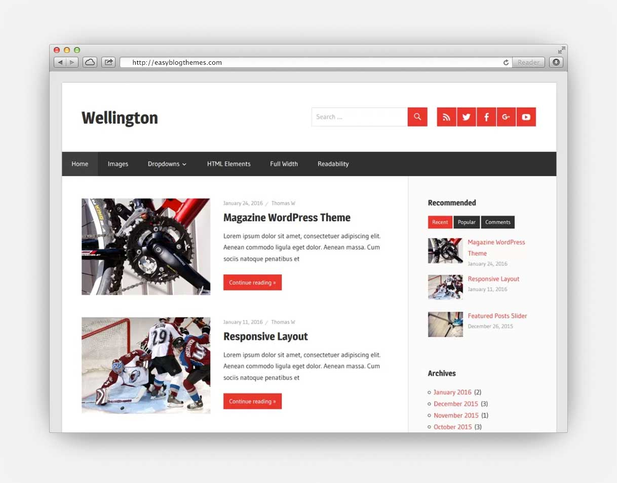 best free WordPress blog themes