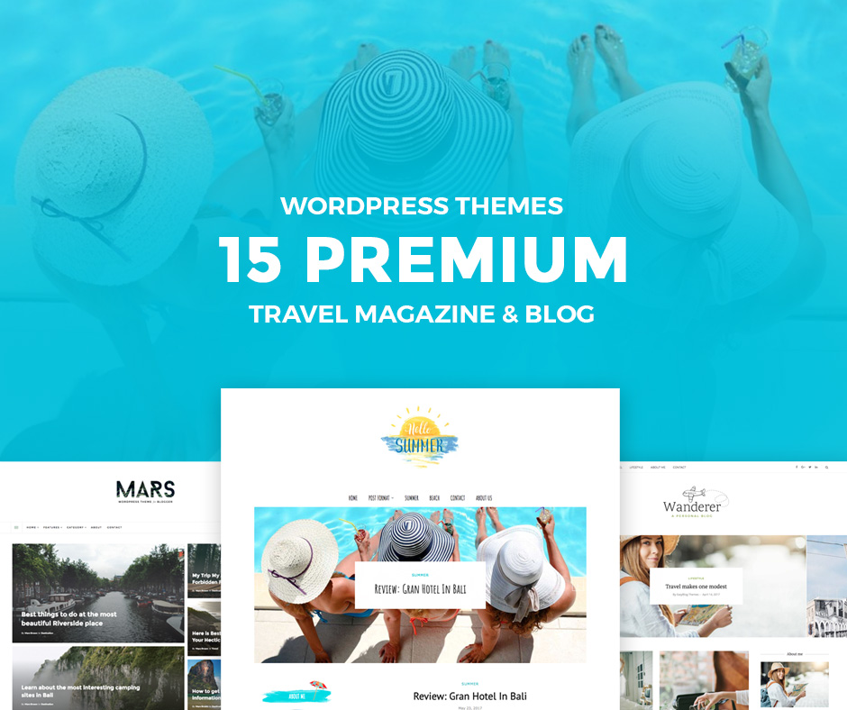 15 Top Rated Travel WordPress Blog Themes and Magazine of 2017