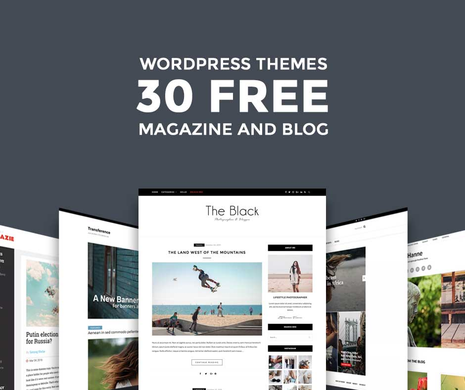 best free wordpress blog themes 2018