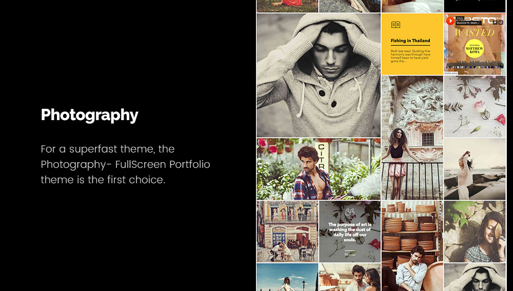 Photography - Best WordPress Blog Themes for Photography