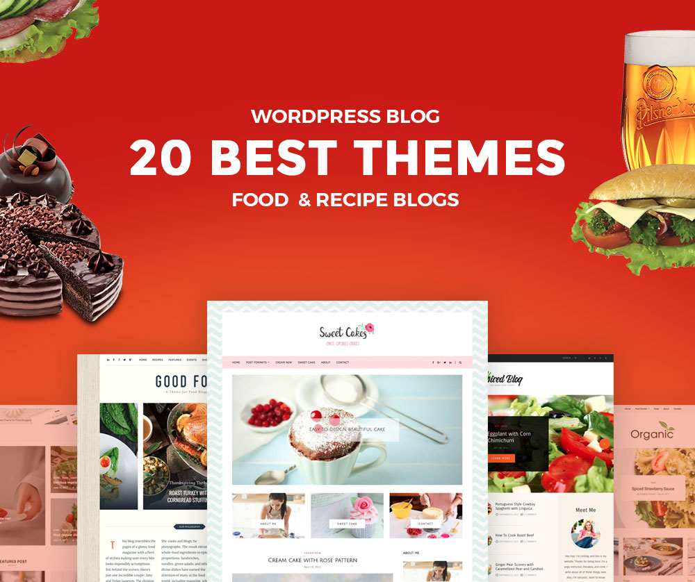 20 best food wordpress blog themes for chef and recipe bloggers 20 best wordpress blog themes for food bloggers 2018 forumfinder Gallery
