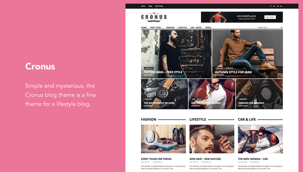 15+ Best WordPress Blog Themes for Lifestyle Bloggers ...