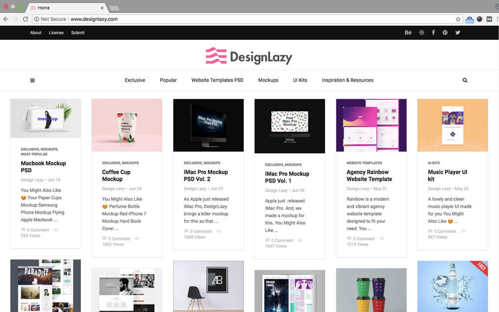 10+ Sites Where to Download Free Design Resources For Bloggers